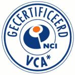 Gecertificeerd NCI -VCA*